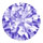 Color CZ amethyst