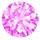 Color CZ pink